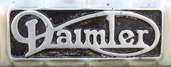 Daimler Bus Badge IMG 1857