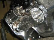 Jeep 2.5 liter 4-cylinder engine chromed s