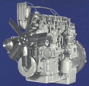 Perkins D-354 engine