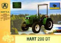 Hart 200 DT MFWD ad-2002