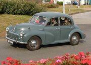 Morris Minor 1953 at Bristol (RCV 860)