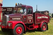 Scammell Ballast Tractor - fairground livery
