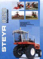 Steyr 8320 MFWD brochure