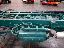 Unterflurmotor Hanomag