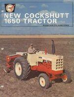 Cockshutt 1650 (creme) brochure - 1965