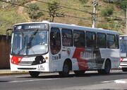 Renato Ferezim ônibus da policia militar de são paulo em aparecida são paulo brasil