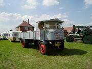 Sentinel steam lorry no7651