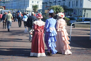 Llandudno - Victorian ladies on the promonarde 09 - IMG 8817