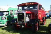 Scammell 20LA tractor - Clyde - reg DYS 319 of E & N Ritchie at Scorton NY 09 - IMG 2337