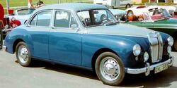 MG Magnette Saloon 1958