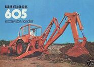 Whitlock backhoe loader