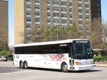 MCI D4500 commuter coach demonstration bus 59654
