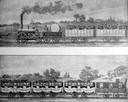 First passenger railway 1830
