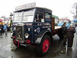 Foden diesel lorry LG9446
