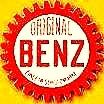 Karl Benz - early automobile logo w cog wheel - 83d40m