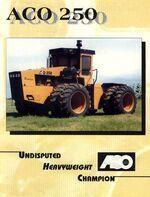 ACO 250 4WD brochure