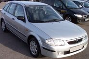 Mazda 323 III Silver