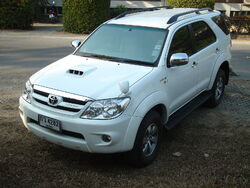 Toyota Fortuner face