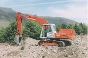Priestman Mustang 120 Excavator