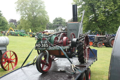 Ivel Tractor no. 131 of 1903 reg AO 385 at Newby 09 - IMG 2224