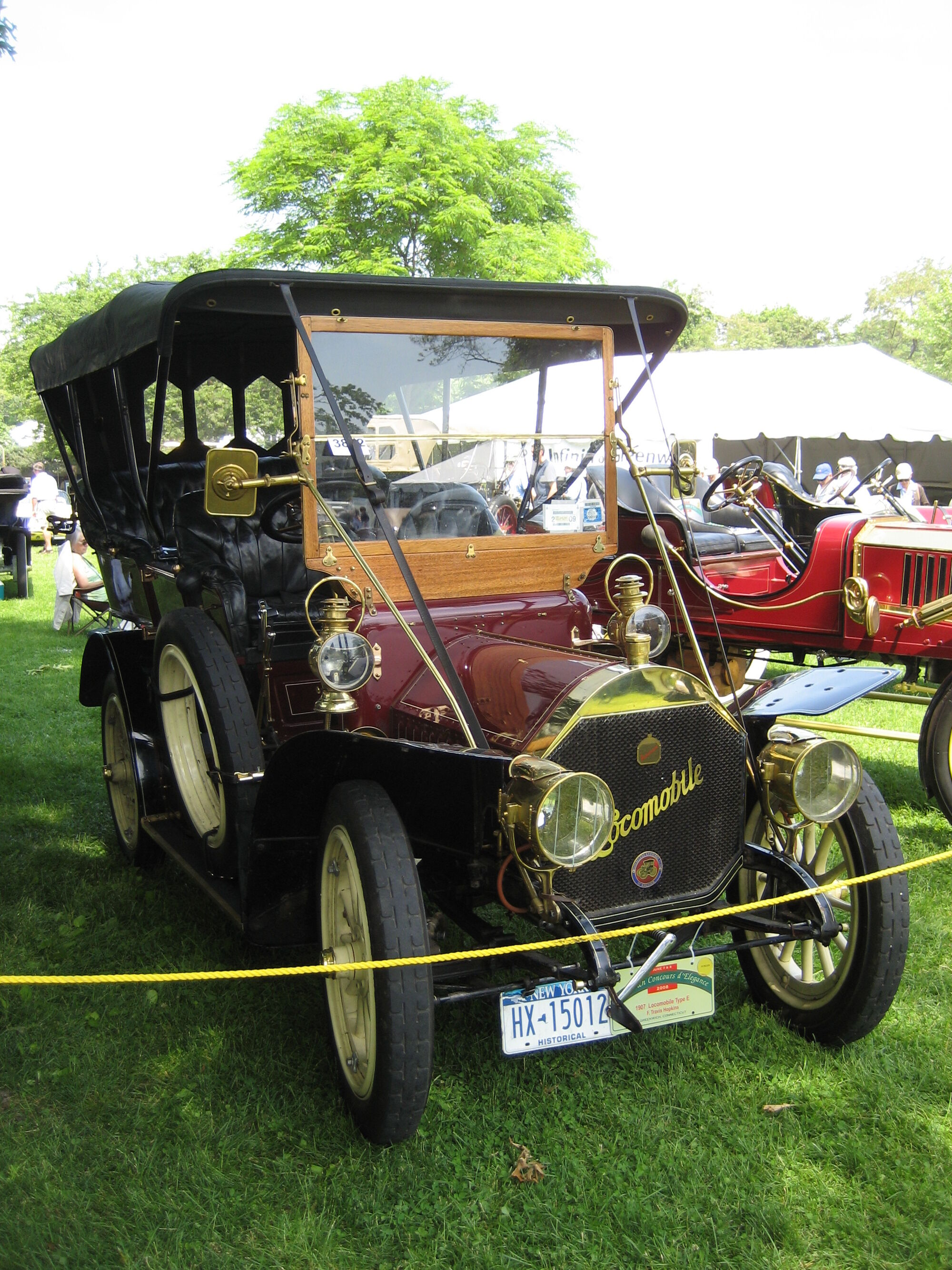 Locomobile Steam Car | Tractor & Construction Plant Wiki ...