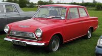 Ford Cortina Mark I 1964 prefacelift front