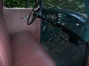1954 International R110 Truck Interior
