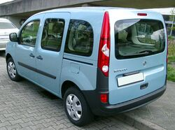 Renault Kangoo rear 20080415