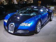 Bugatti veyron in Tokyo