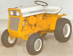 International Cub Cadet 104 1968