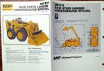 MF 811 Underground skid-steer brochure - 1975