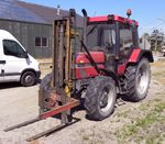 Case 4230 with WIFO forklift