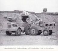 Chaseside dumptruck and weatherhill loader
