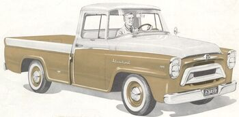 International 1957 A-100 Golden Jubilee