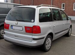 Seat Alhambra Facelift 20090706 rear