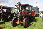 Foden sn 13484 of 1930 (rebuilt) reg LG 8784 at Stoke Goldington 09 - IMG 9631