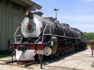 Museu da Tecnologia - Locomotiva a vapor Henschel & Sohn
