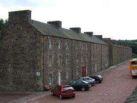 New Lanark Wee Row