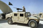 Saudi Arabian Humvee