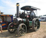 Robey traction engine Great Dorset Steam Fair