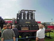 Ruston VC4 engine - ex Honister slate mine -shown at Llandudno 08 - P5050119 edited