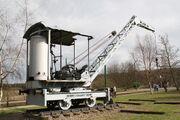 Coles 5 ton crane - 1917 at Beamish 2010 - IMG 1326