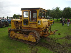 Caterpillar D4D with linkage at Lincoln 08 - P8170561