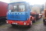 Leyland Buffalo 4x2 tractor unit reg no MFU 190R at NMM - IMG 2841