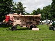 Marshall Threshing machine at Newby Hall 08 - P6080101