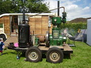 Stationary Engine on trailer