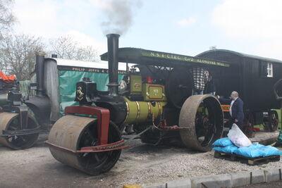 Aveling & Porter no. 8316 RR - Lady Hamilton - E 5335 at Klondyke Mill 09 - IMG 7186