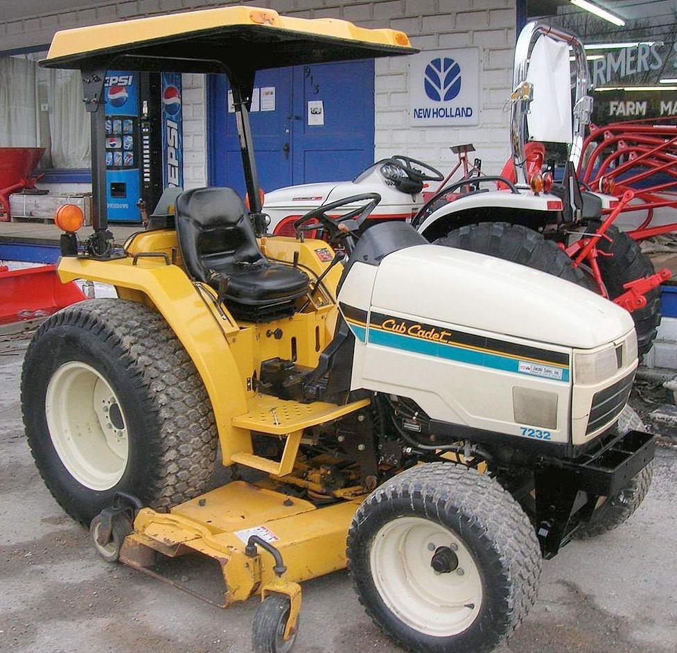 7260 Cub Cadet Tractor : Cub cadet tractor construction plant wiki
