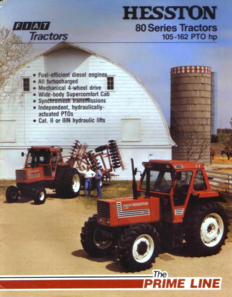 Fiat Hesston Tractors Farm : Hesston dt tractor construction plant wiki