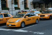 New York Prius cab